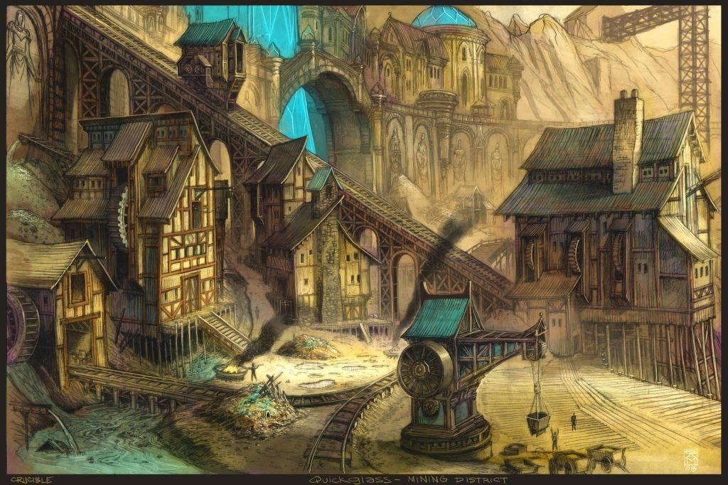 «Город Врат»: отменный иллюстрированный путеводитель для поклонников сюрреалистичного фэнтези 6
