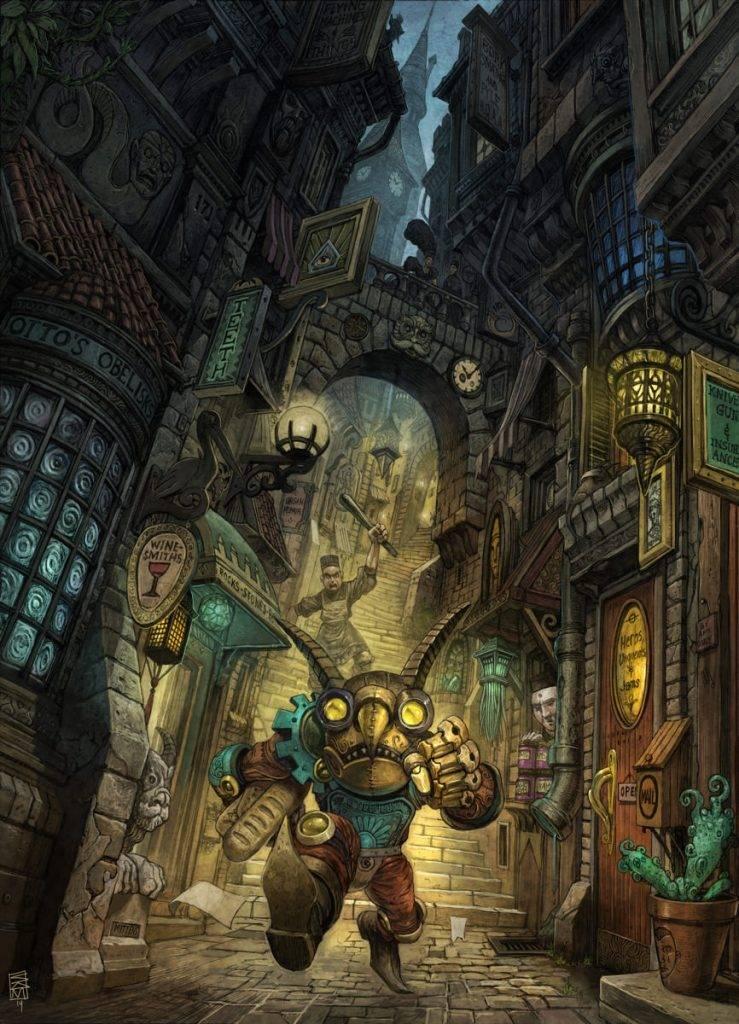 «Город Врат»: отменный иллюстрированный путеводитель для поклонников сюрреалистичного фэнтези 5