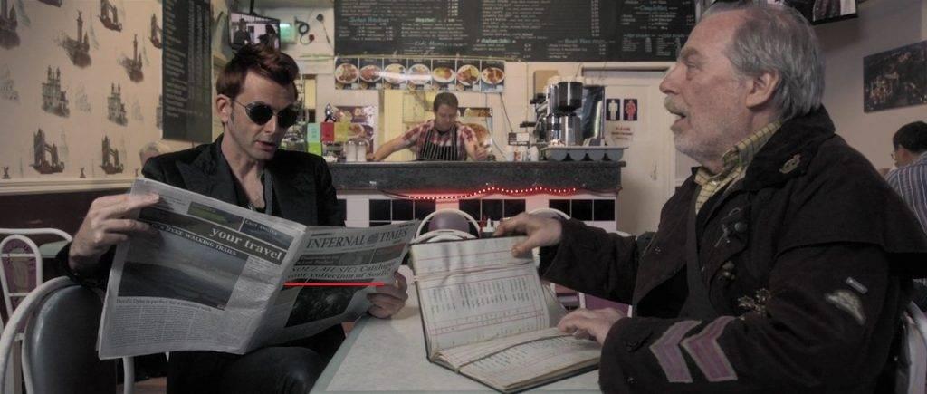 30 пасхалок и отсылок в сериале «Благие знамения» 22