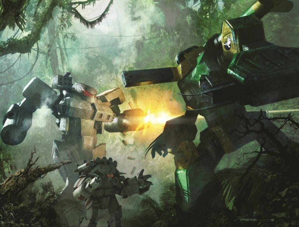 Когда роботы были большими. История вселенной BattleTech 17