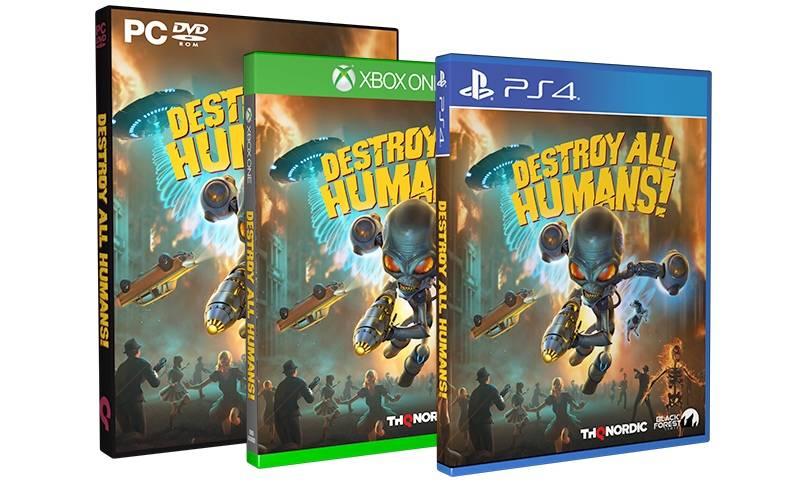 THQ Nordic в 2020 году выпустит ремейк пародийной игры Destroy All Humans! 10