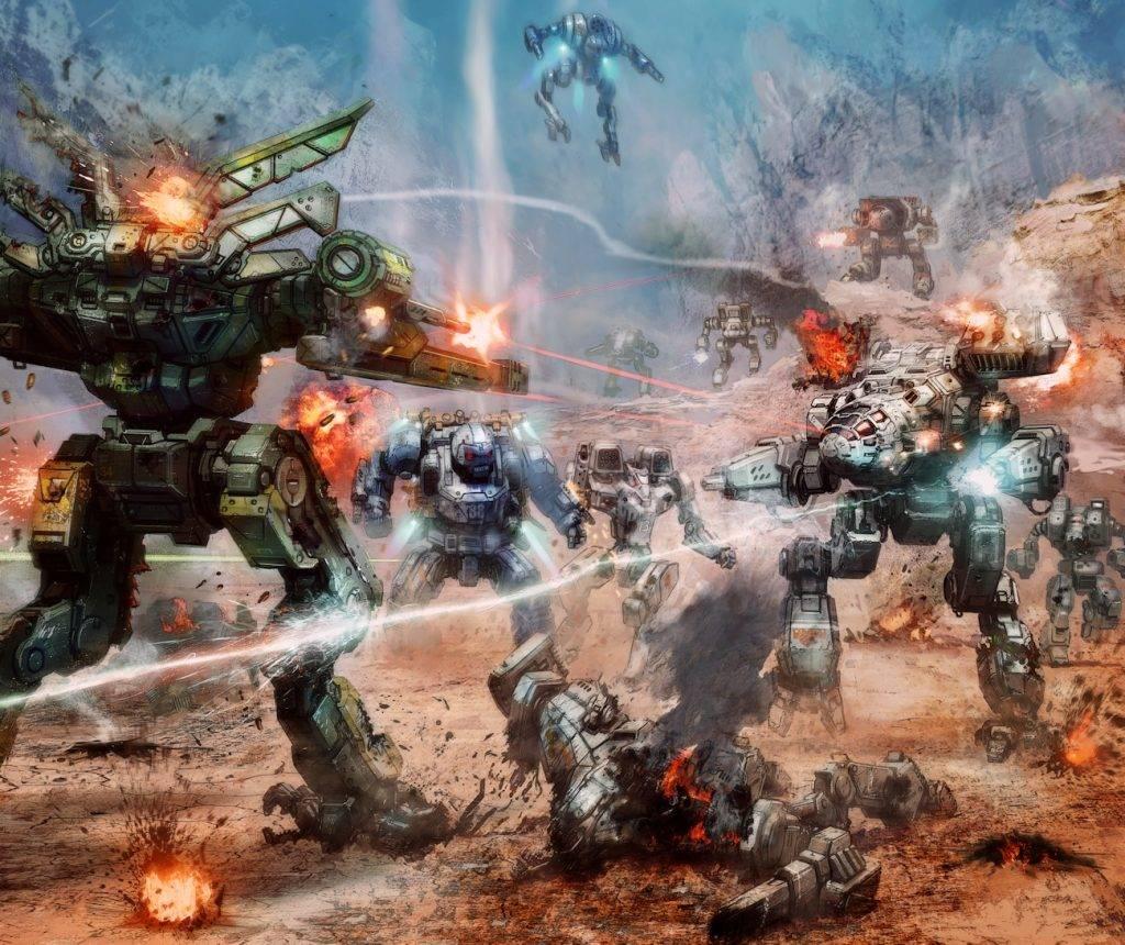 Когда роботы были большими. История вселенной BattleTech 18