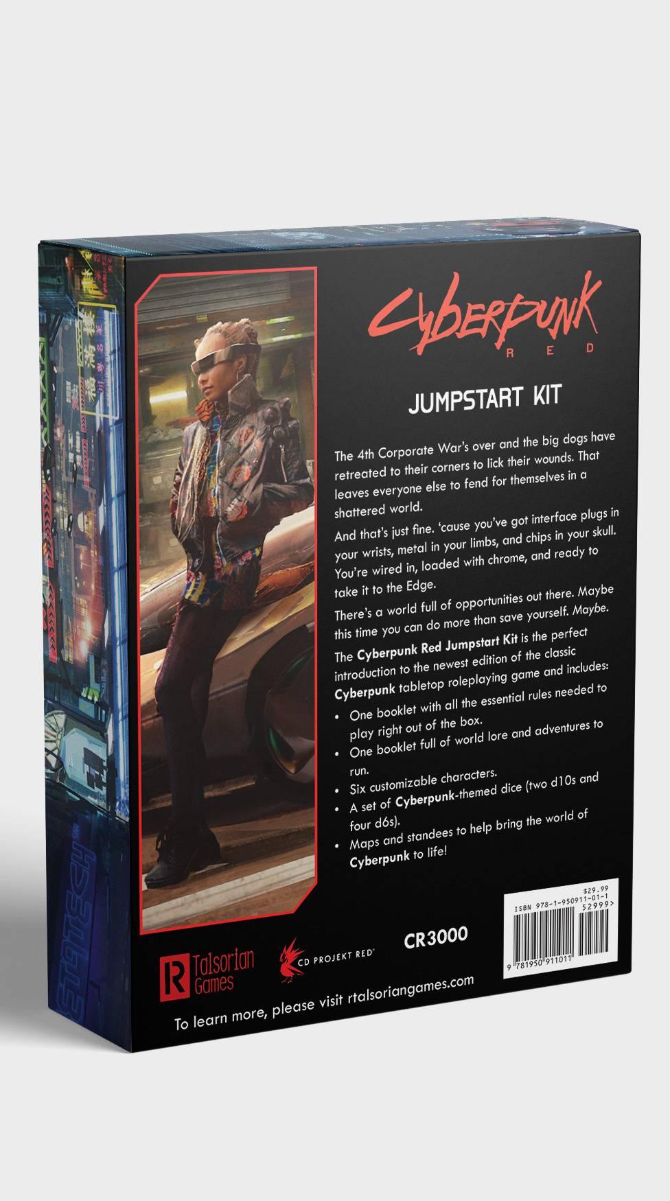 Настольная ролевая игра Cyberpunk RED — обновлённая редакция CP2020 — поступит в продажу 1 августа 1