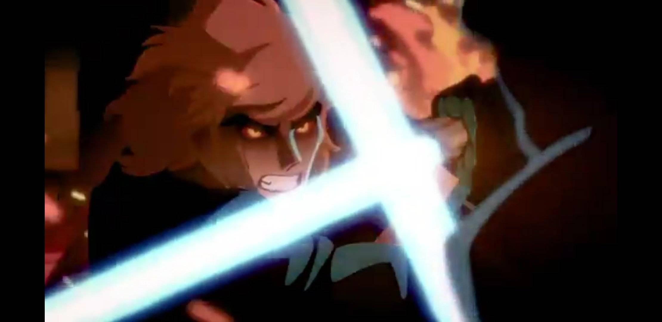 Короткометражка: минутный анимационный ролик о Саге Скайуокеров