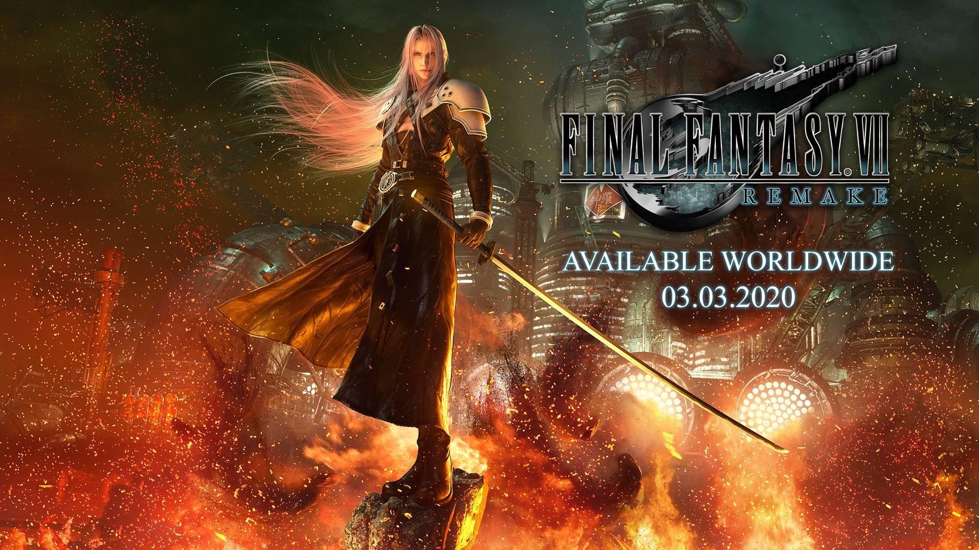 Square Enix представила трейлер ремейка Final Fantasy VII и объявила дату выхода — 3 марта 2020-го
