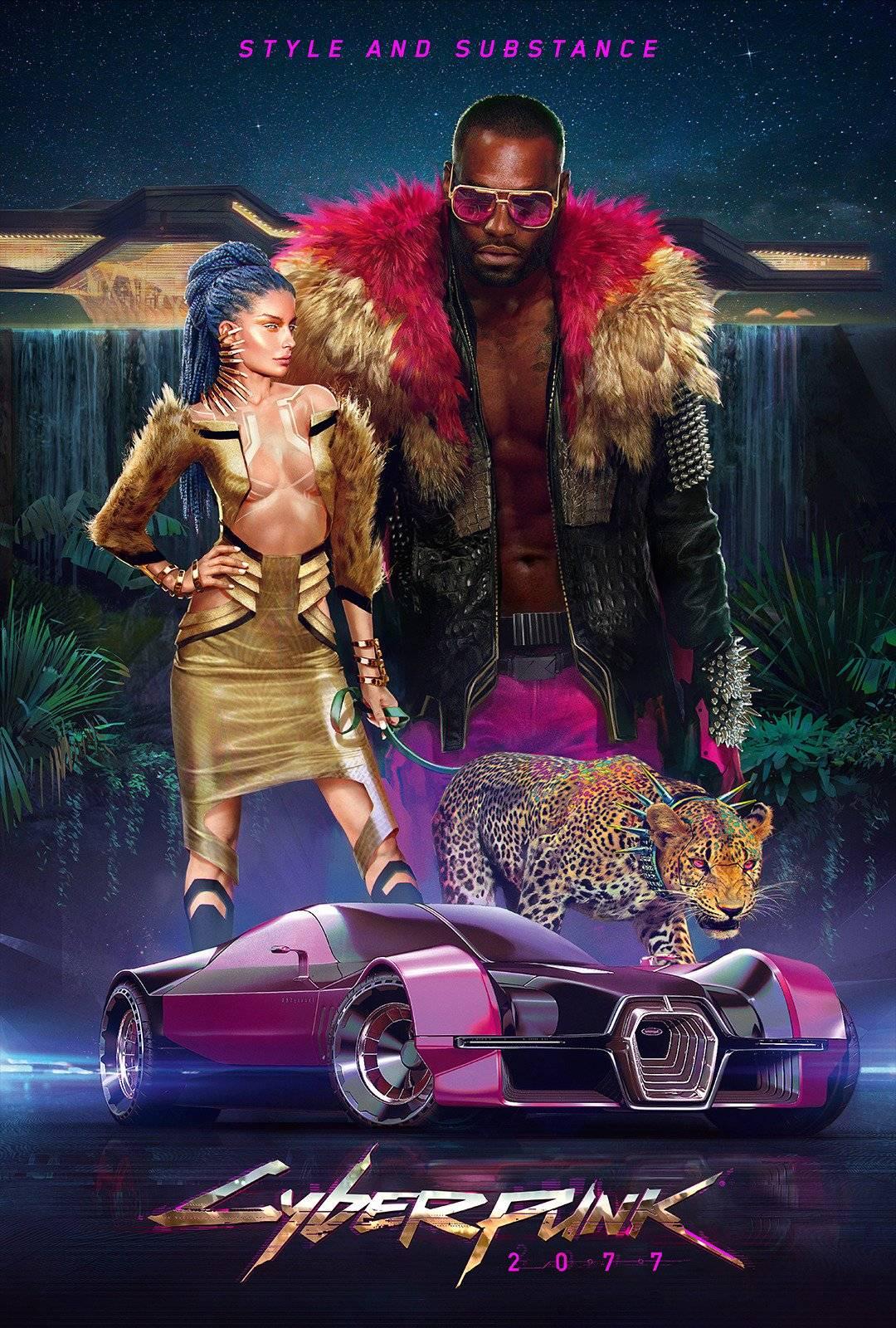 Стили Cyberpunk 2077 в одежде и архитектуре 4