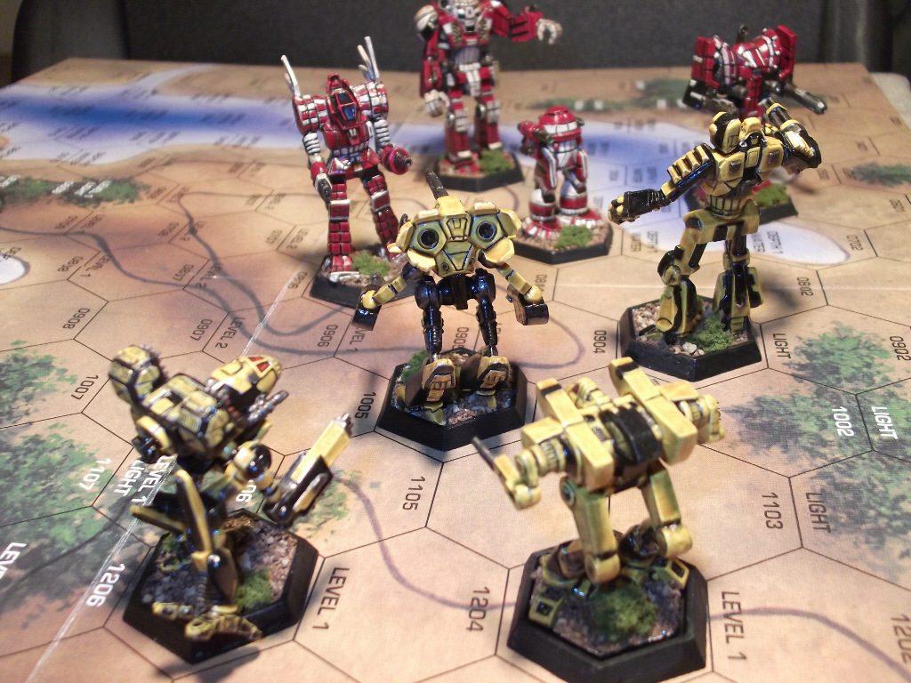Когда роботы были большими. История вселенной BattleTech 5