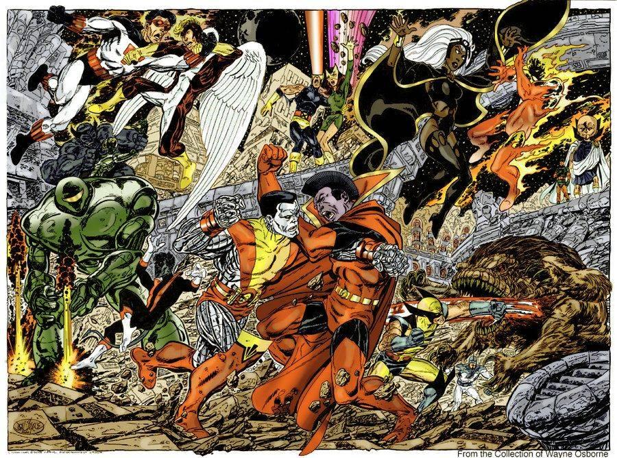 «Тёмный Феникс»: великий комикс о геноциде и падении героя 1