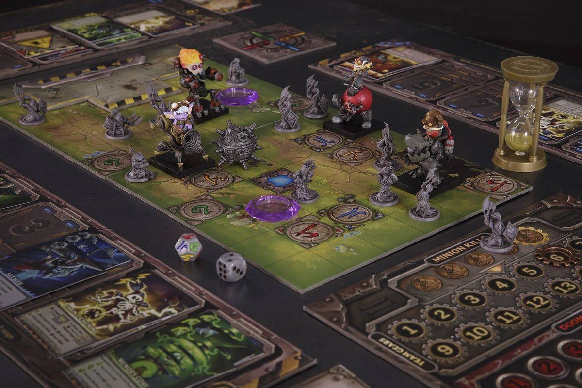 Mechs vs Minions. Настолка во вселенной League of Legends 5