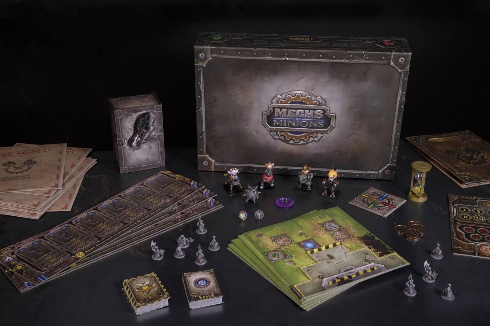 Mechs vs Minions. Настолка во вселенной League of Legends 4