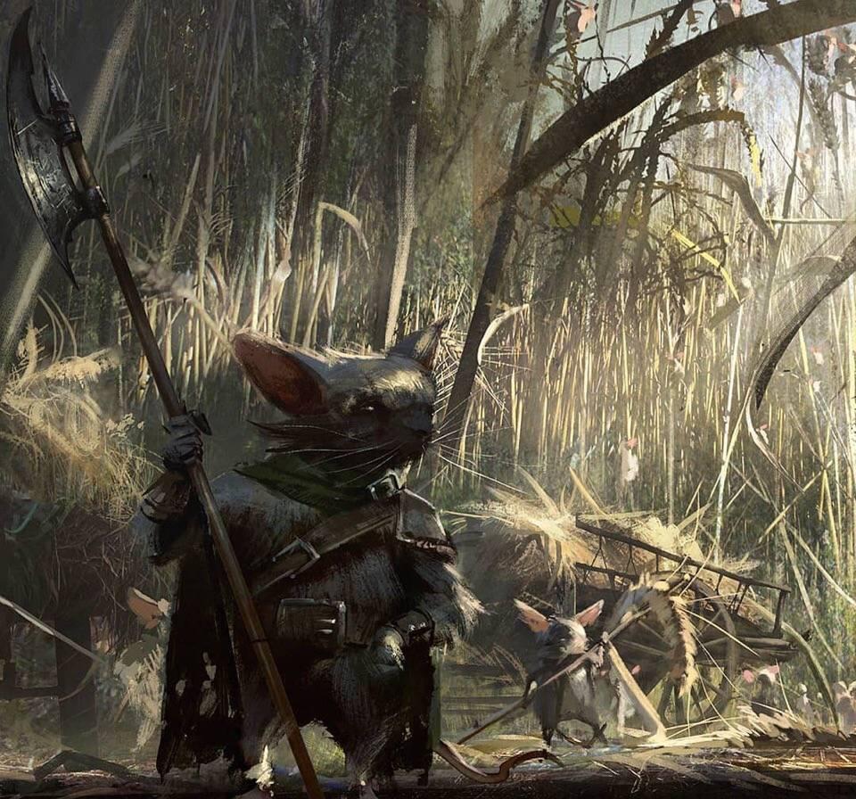 Демо-ролик и концепт-арты отменённого фильма по «Мышиной страже» 4