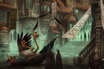 «Город Врат»: отменный иллюстрированный путеводитель для поклонников сюрреалистичного фэнтези