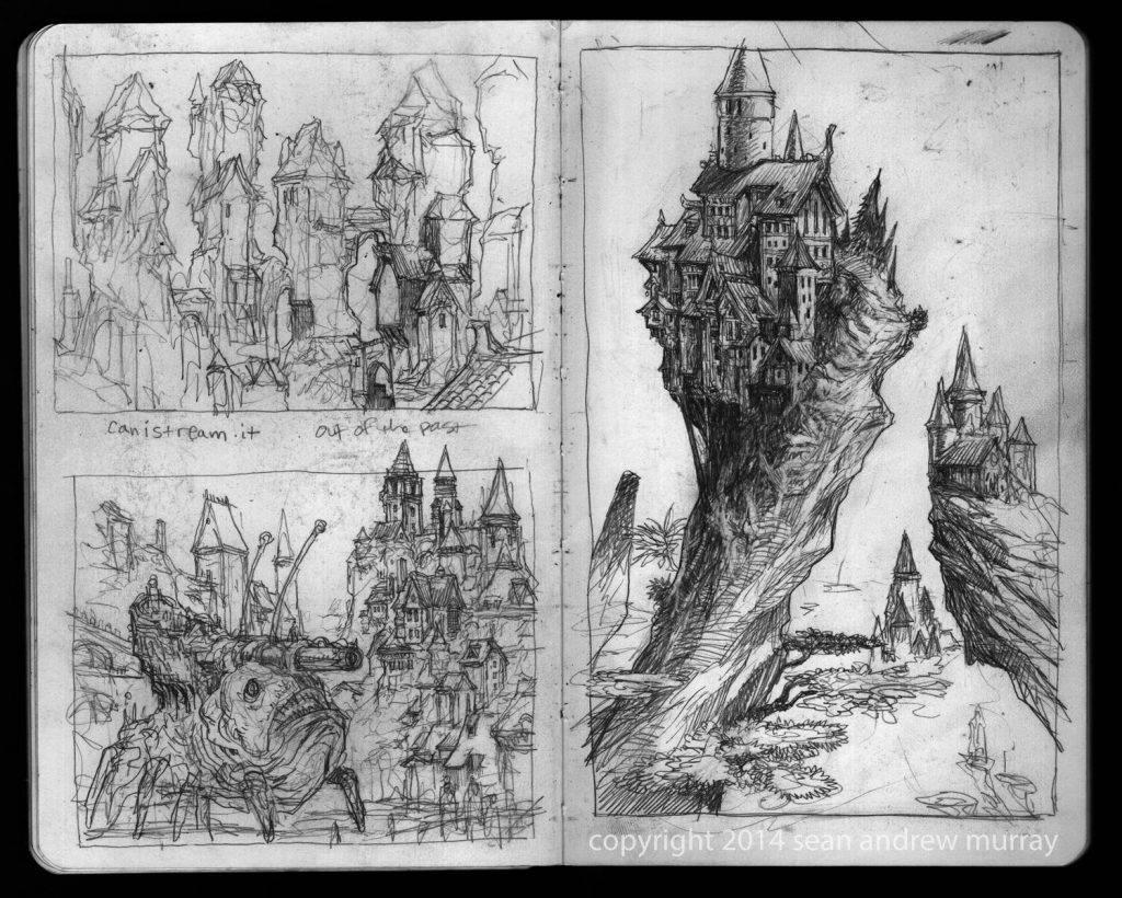 «Город Врат»: отменный иллюстрированный путеводитель для поклонников сюрреалистичного фэнтези 1