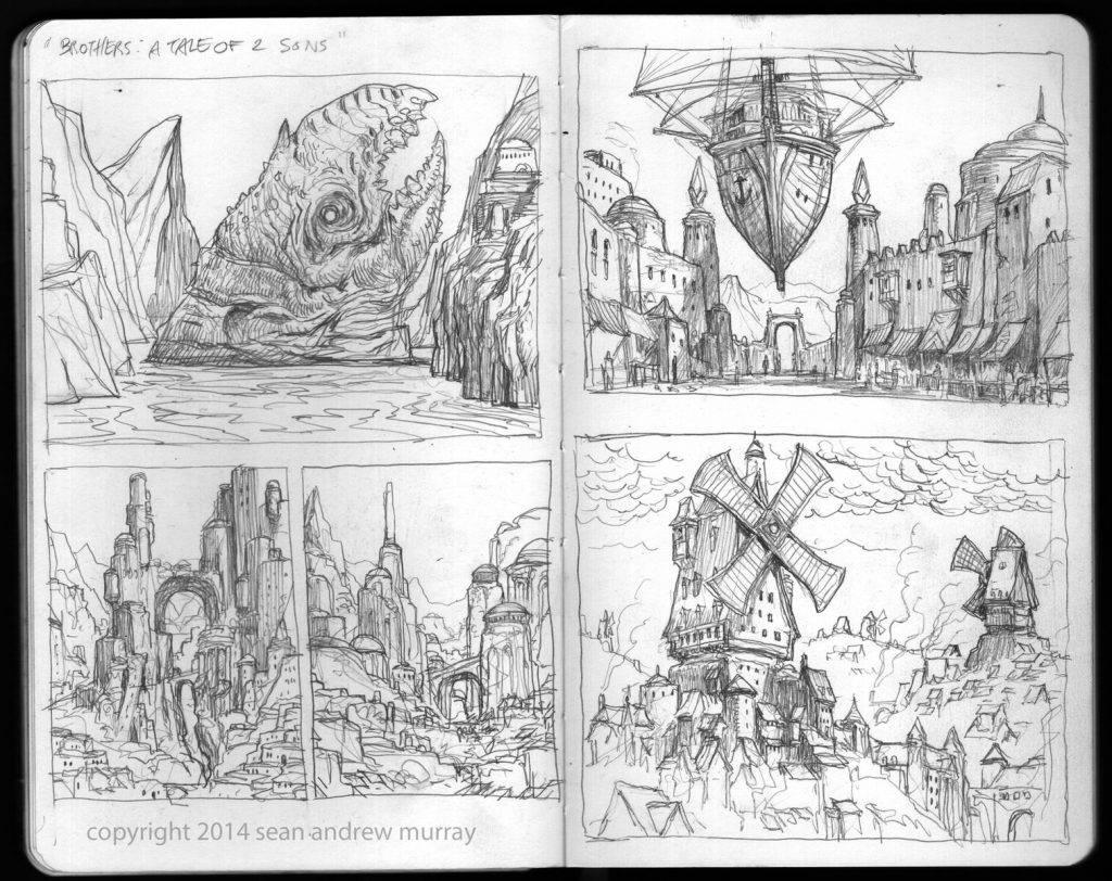 «Город Врат»: отменный иллюстрированный путеводитель для поклонников сюрреалистичного фэнтези 2