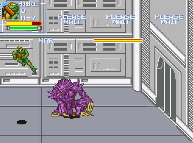 Находка: ретро-игра по «Черепашкам-ниндзя»в духе классики с NES 2