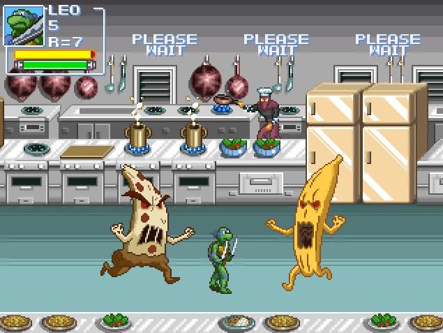 Находка: ретро-игра по «Черепашкам-ниндзя»в духе классики с NES 3