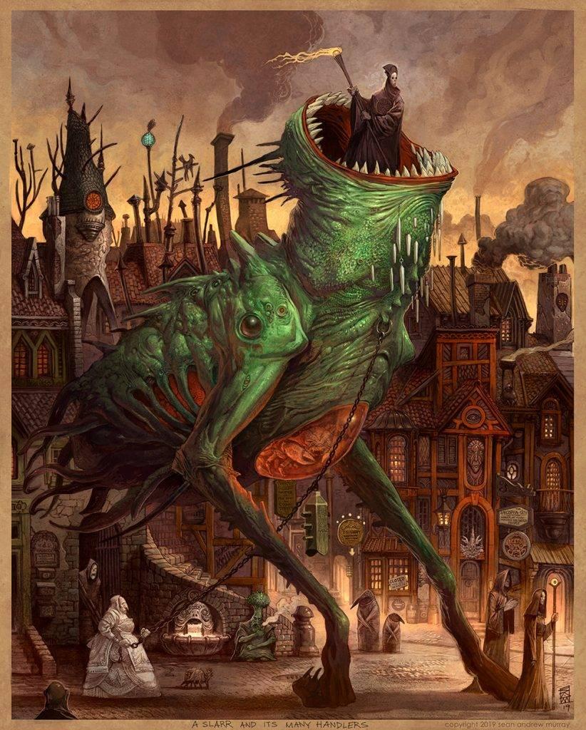 «Город Врат»: отменный иллюстрированный путеводитель для поклонников сюрреалистичного фэнтези 9