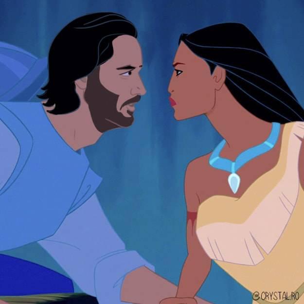 Киану Ривз — лучший принц Disney 6
