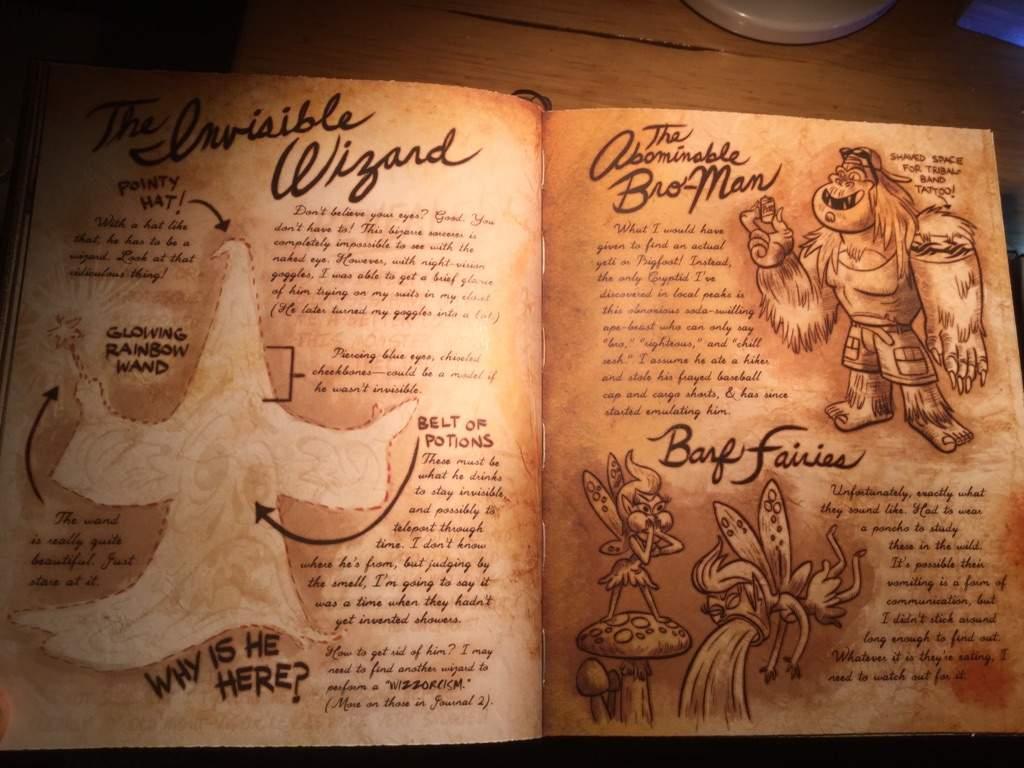 Монстры и странные твари из Гравити Фолз 4
