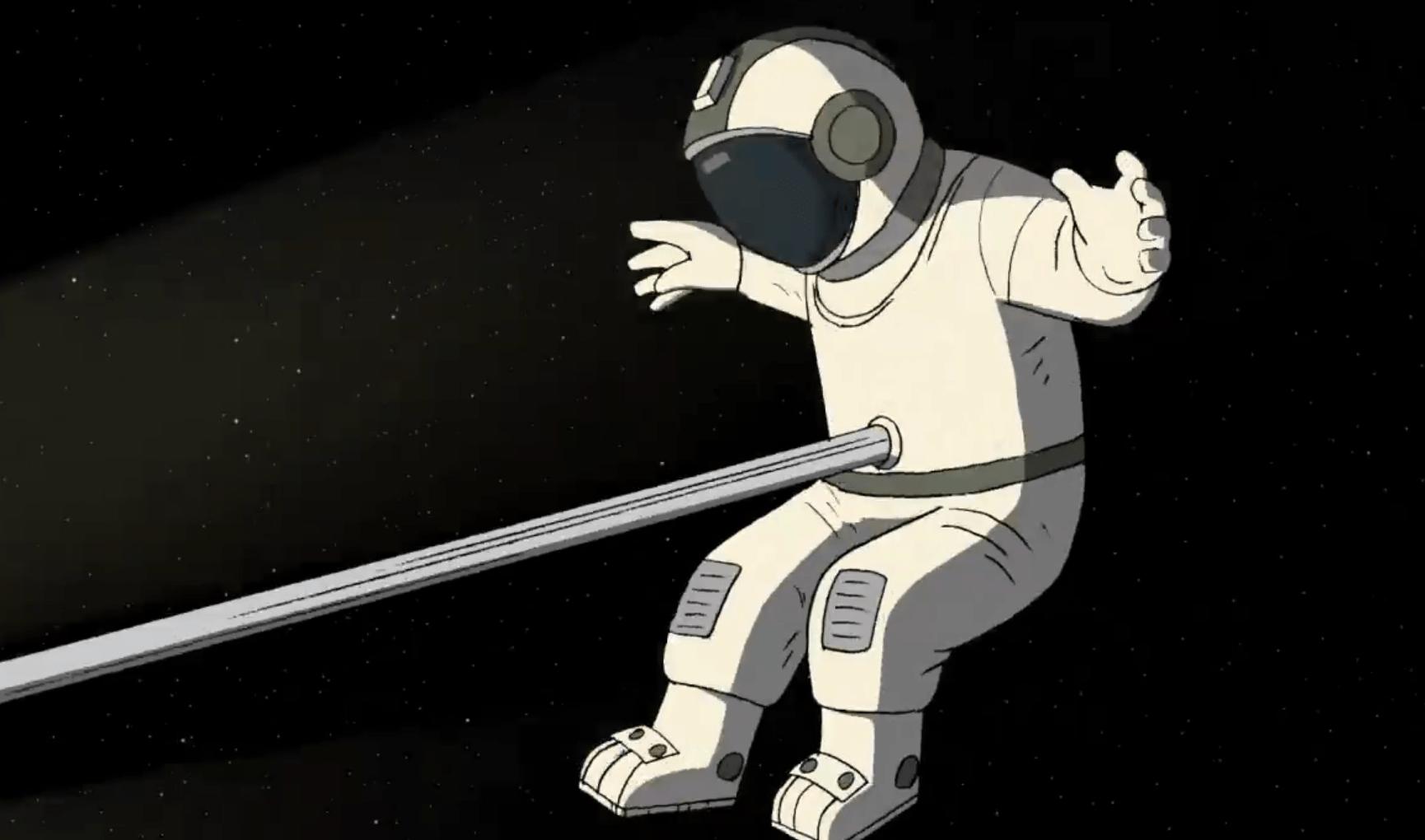 Константин Бронзит опубликовал трейлер мультфильма «Он не может жить без космоса»
