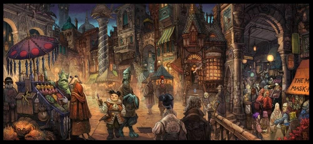 «Город Врат»: отменный иллюстрированный путеводитель для поклонников сюрреалистичного фэнтези 3