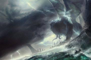 Остров Ктулху и города древних рас: путеводитель по нечеловеческим руинамЛавкрафта