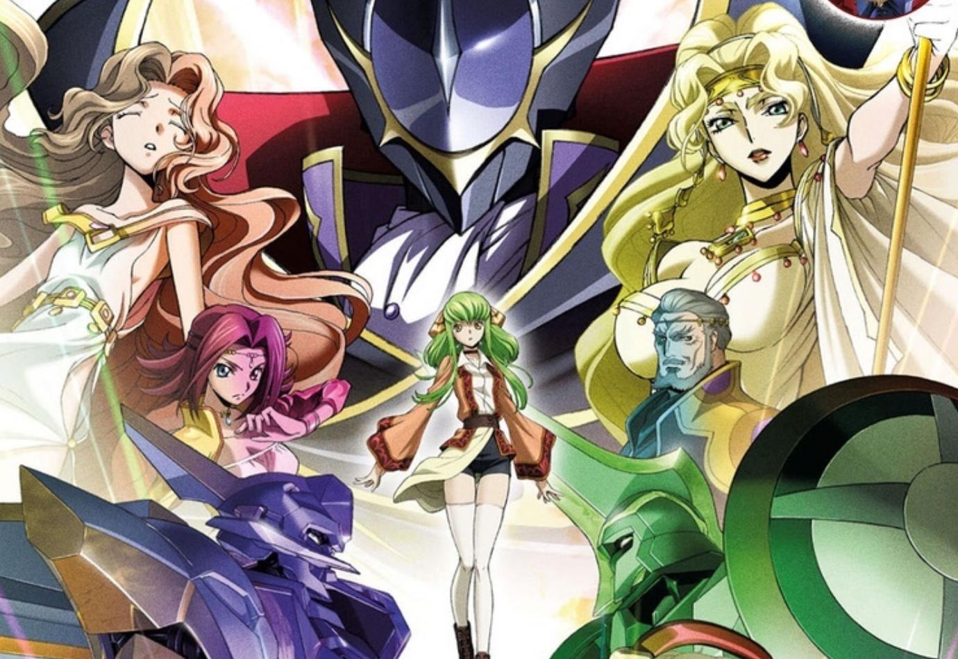 Этим летом в российский прокат выйдут три полнометражных аниме: Code Geass, Gundam и Promare