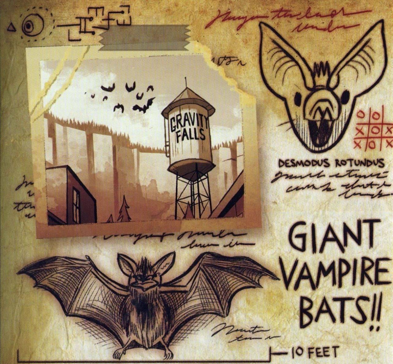 Монстры и странные твари из Гравити Фолз 29