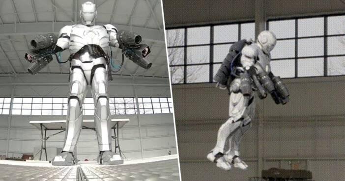 Адам Сэвидж запустил новое шоу. В первой серии он собрал пуленепробиваемый костюм Железного человека