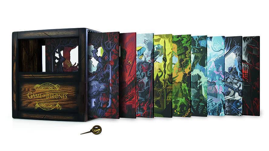 HBO выпустит «эпическое» издание «Игры престолов» на 33 дисках — с 15 часами бонусного контента
