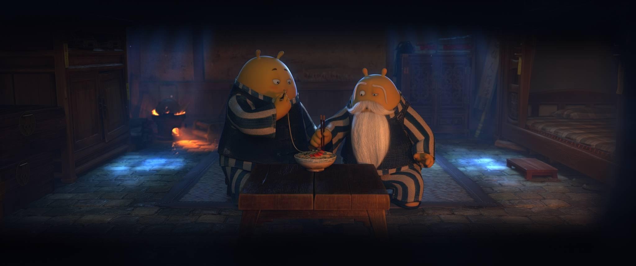 В российской версии китайского мультфильма «Кунг-фу воин» героя по имени Тофу назвали Дошиком