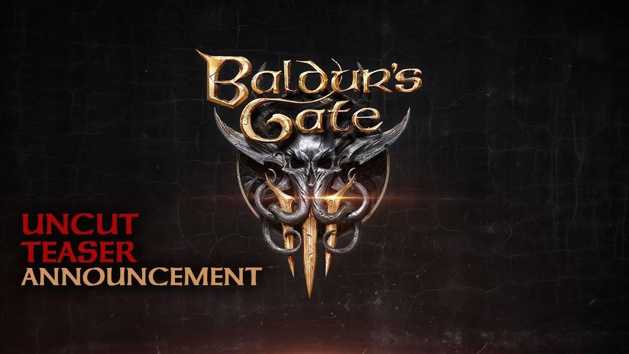 Larian анонсировали Baldur's Gate III — в ней будут иллитиды!