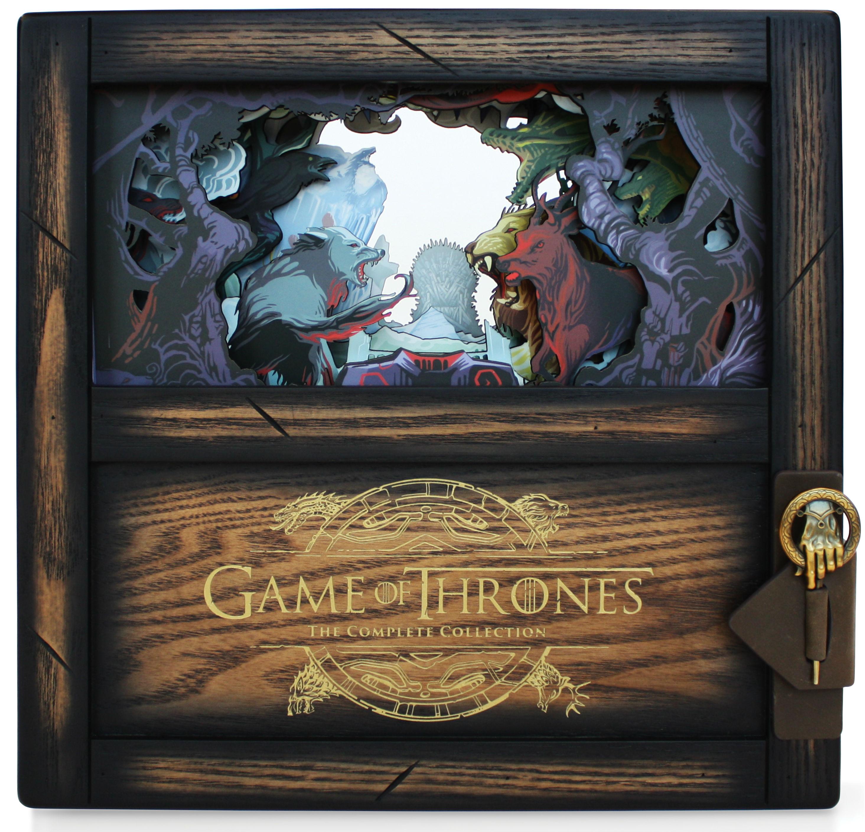 HBO выпустит «эпическое» издание «Игры престолов» на 33 дисках — с 15 часами бонусного контента 1