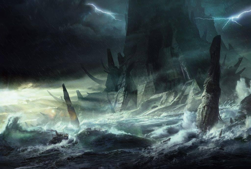 Остров Ктулху и города древних рас: путеводитель по нечеловеческим руинамЛавкрафта 5