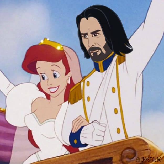 Киану Ривз — лучший принц Disney 4