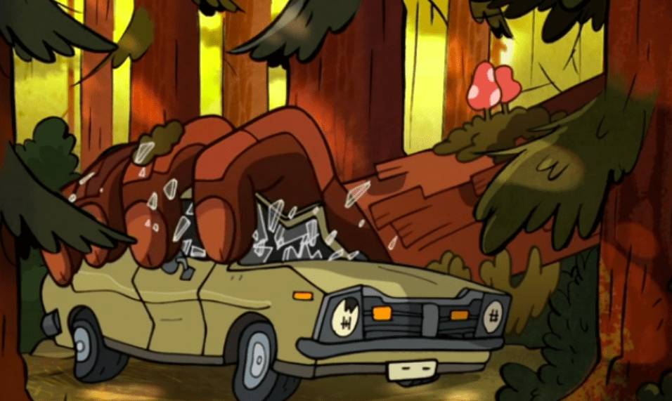 Монстры и странные твари из Гравити Фолз 21