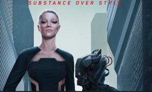 Стили Cyberpunk 2077 в одежде и архитектуре
