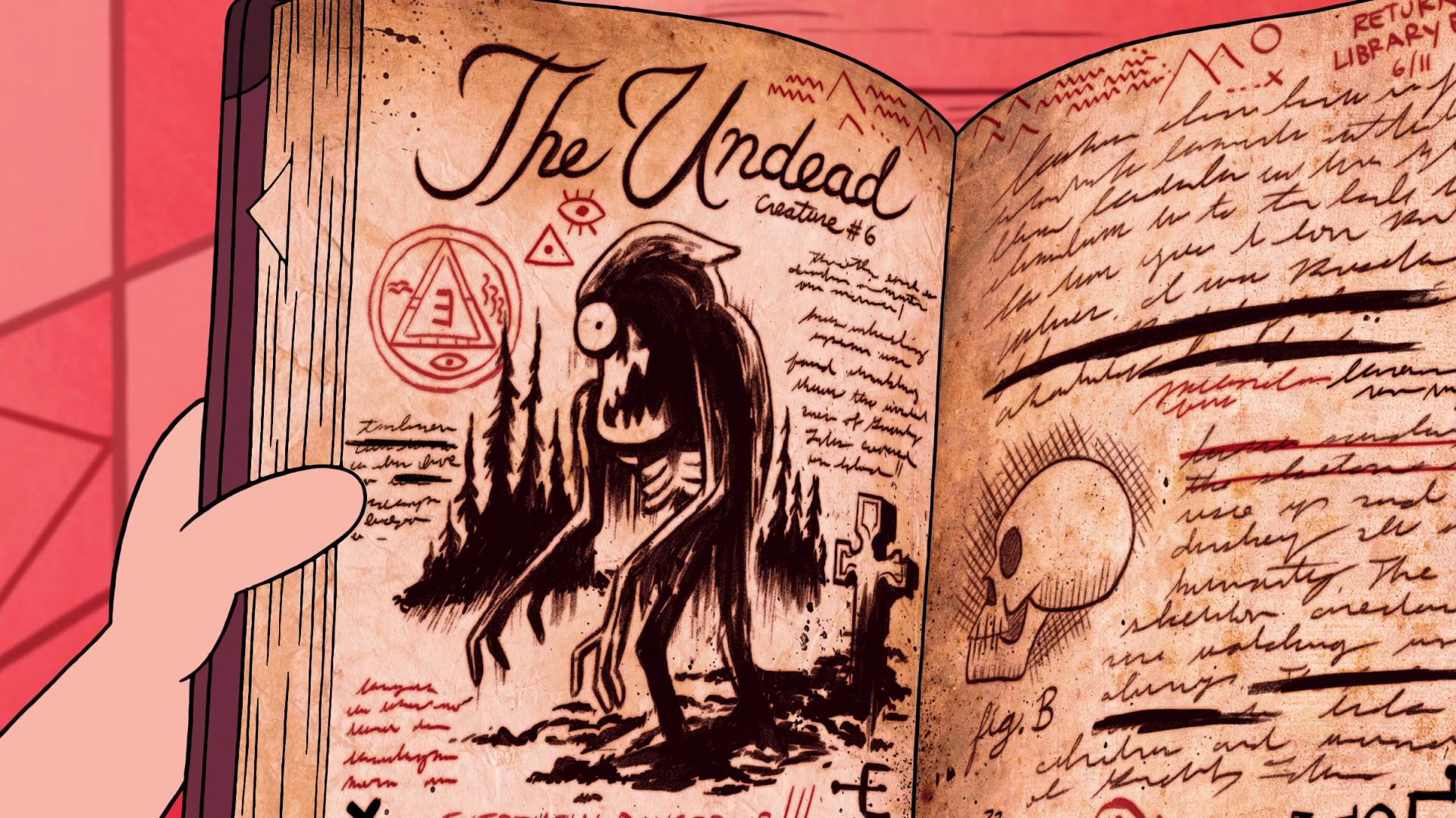 Монстры и странные твари из Гравити Фолз 11