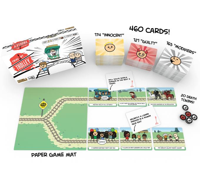 Настолка-пародия на «дилемму вагонетки» от авторов «Цианида и счастья»собрала 2 миллиона долларов на Kickstarter
