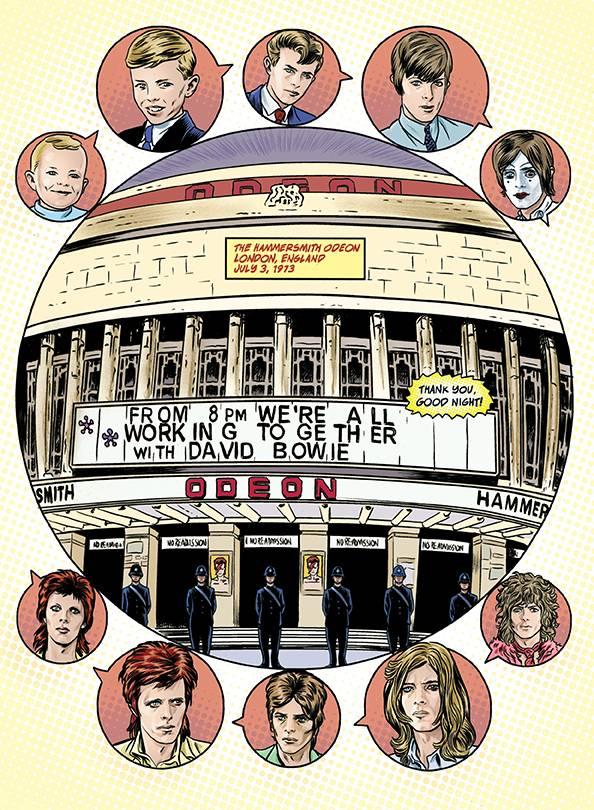 Издательство Insight выпустит комикс про карьеру Дэвида Боуи 2