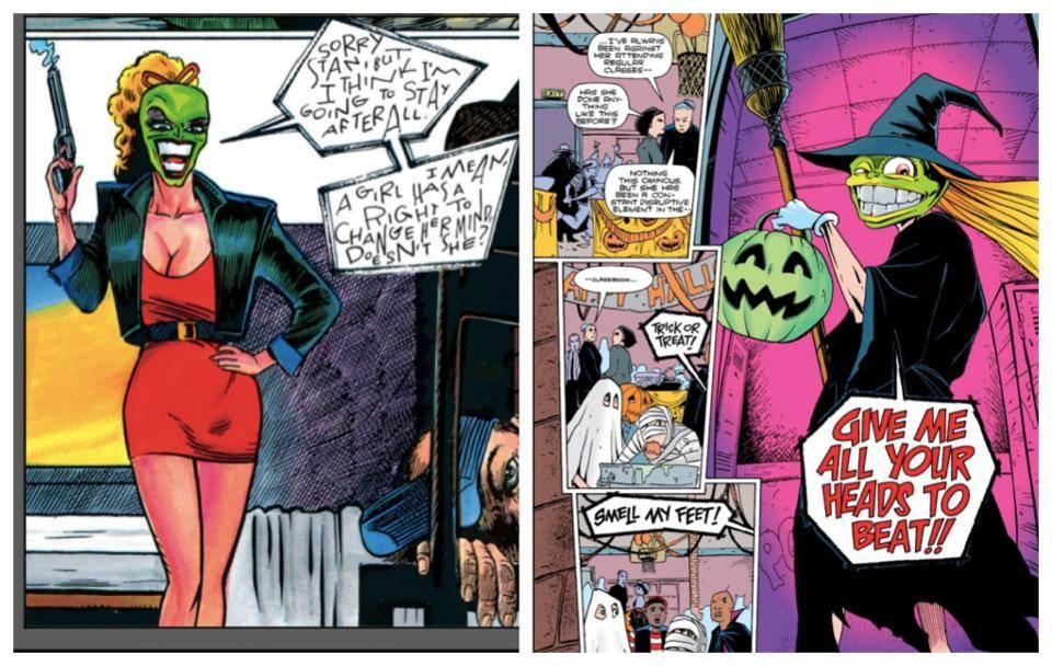 Один из авторов комикса «Маска» хотел бы увидеть новую экранизацию с женщиной в главной роли 1