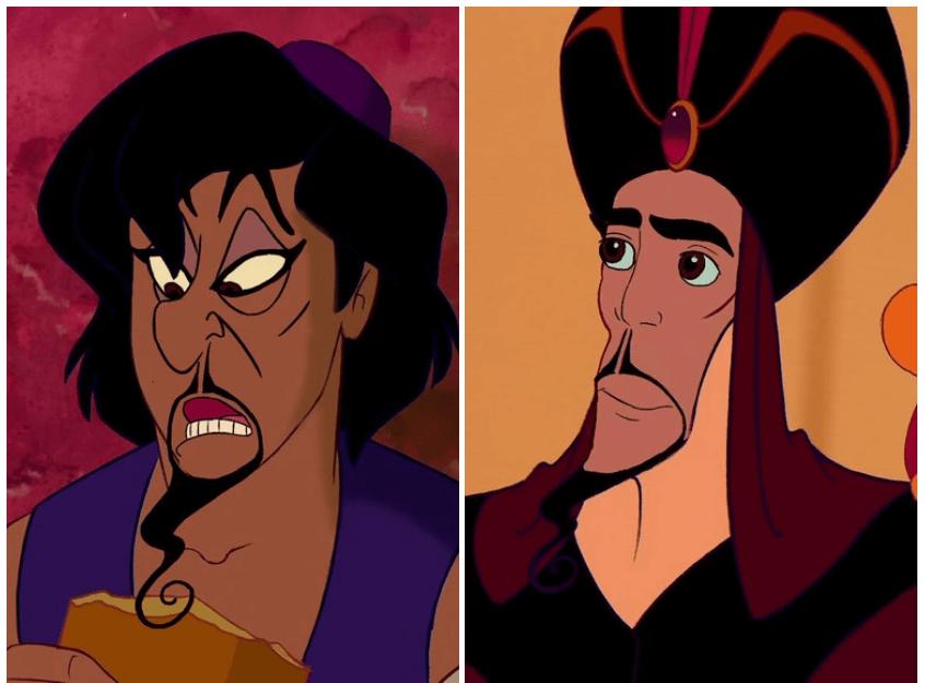 Находка: как выглядят герои и злодеи Disney, если им поменять лица 3