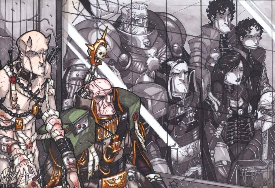 Кто такой Грегор Эйзенхорн из Warhammer 40,000, о котором снимают сериал? 1