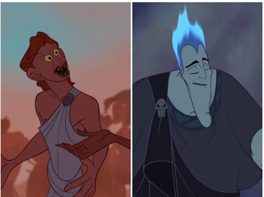 Находка: как выглядят герои и злодеи Disney, если им поменять лица 5