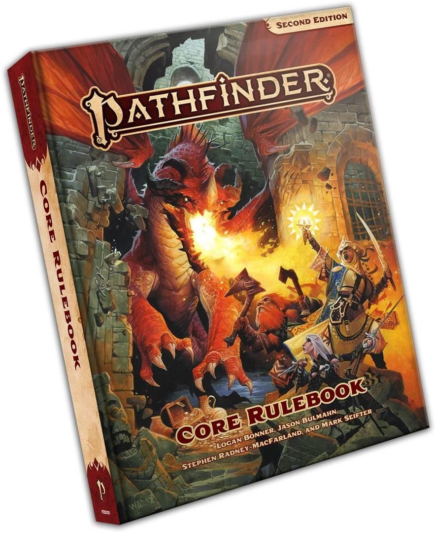 Hobby World анонсировали выход русского издания Pathfinder 2.0 — пока что без дат