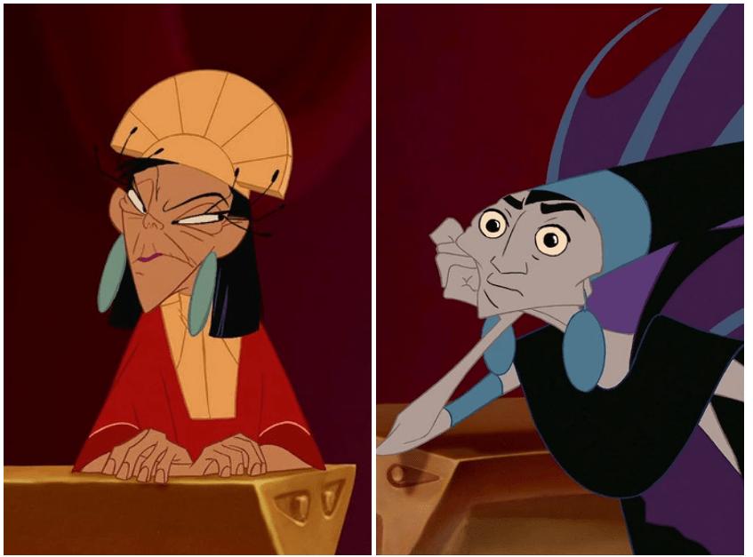 Находка: как выглядят герои и злодеи Disney, если им поменять лица 4
