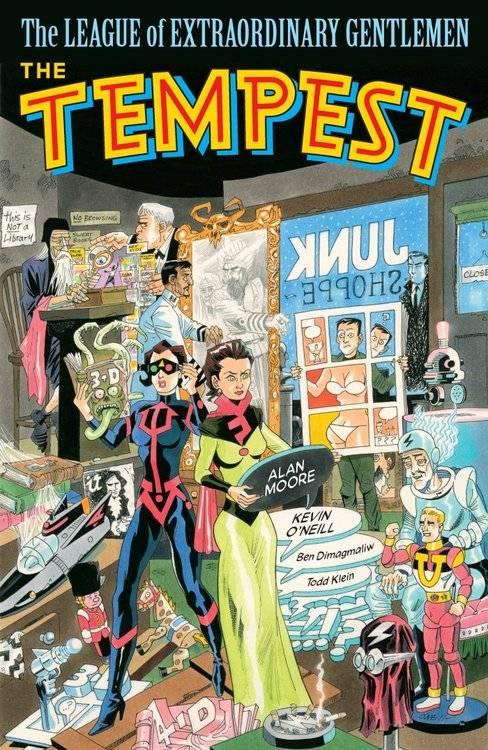 Вышел четвёртый том «Лиги выдающихся джентльменов» — после него Алан Мур обещал покончить с комиксами 1
