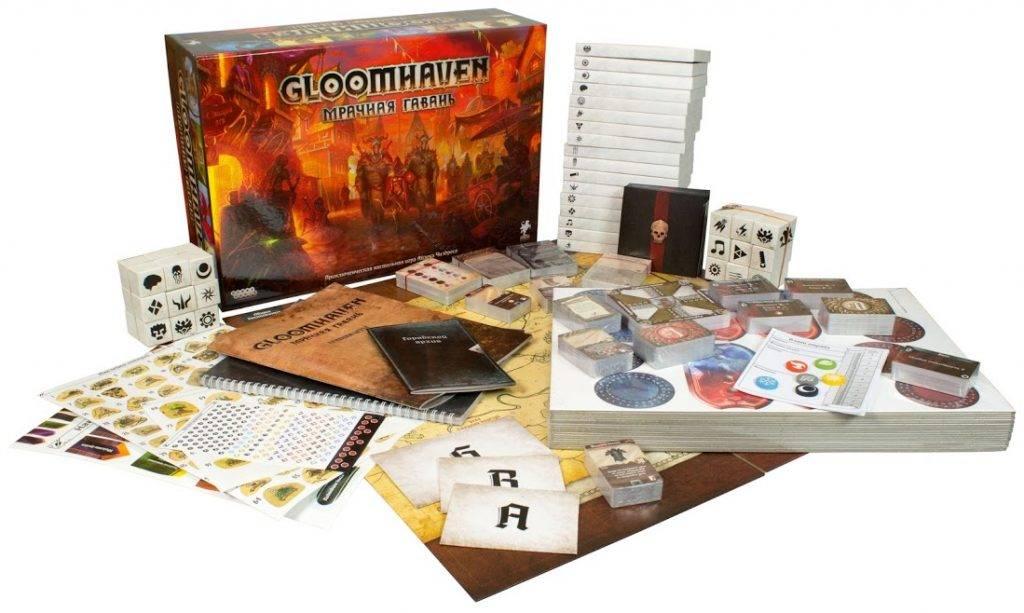 «Gloomhaven. Мрачная Гавань». CRPG на вашем столе 5