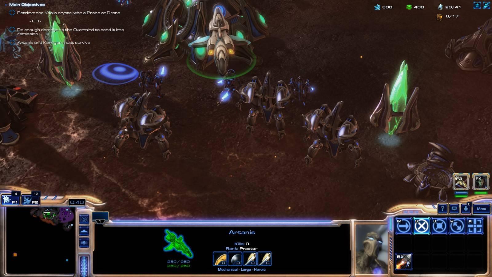 Энтузиасты выпустили финальную версию ремейка StarCraft на движке второй части