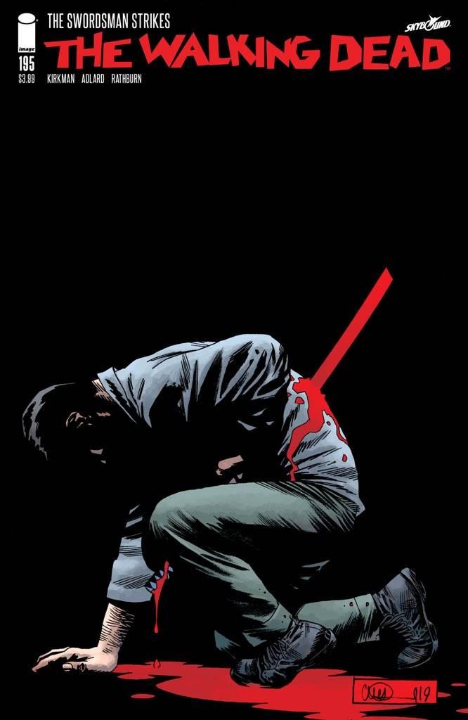 Слух дня: 193-й выпуск комикса «Ходячие мертвецы» раскроет главный сюжетный поворот 2